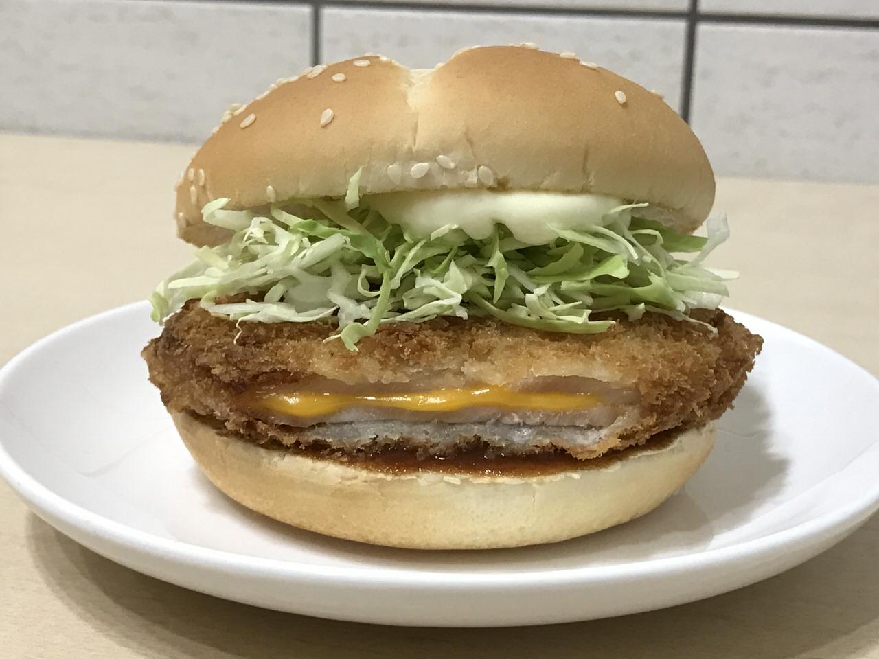 Mcdonalds cheese katsu 0320