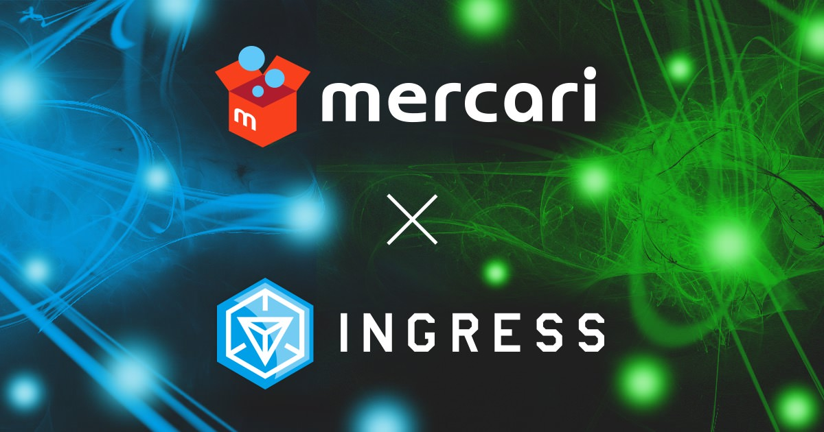 Mercari ingress ingress