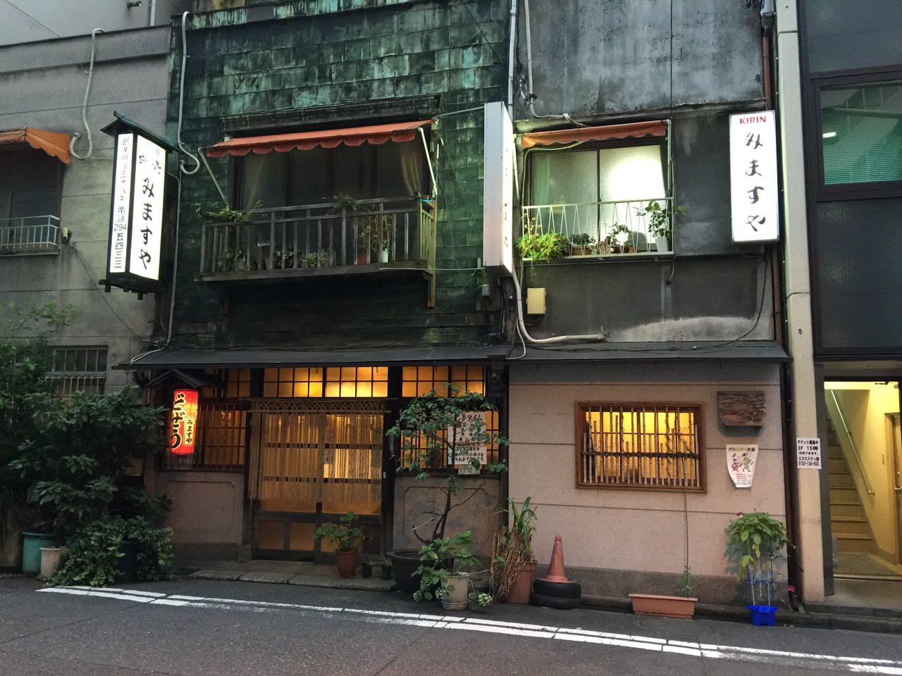 「みますや(神田)」創業111年!東京最古と言われる居酒屋オブ居酒屋で食べる桜さしみ