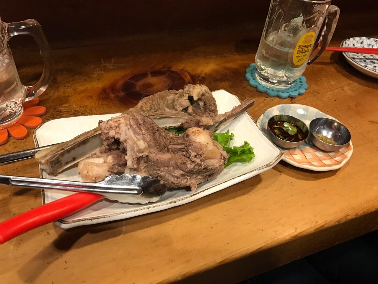「モンゴリアン・チャイニーズBAO(新橋)」羊肉だらけのメニューにうっとりできる店!塩ゆでもクミン炒めも美味いよ!