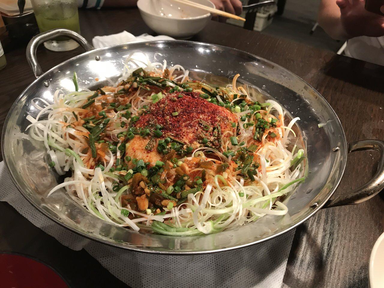 「丸鶏鍋 もと家(上野)」夏限定の辛辛タッカンマリを食べてきた!ハイボールも200円