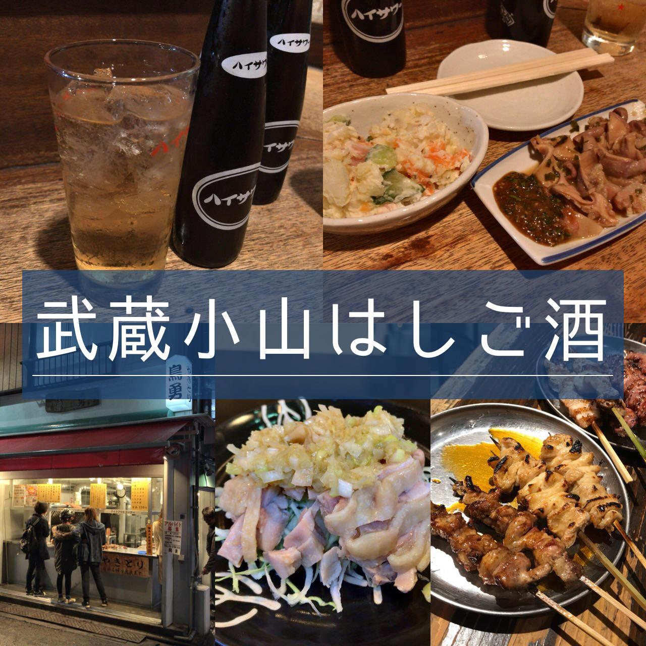 【武蔵小山はしご酒】目黒から2分で安くて居心地の良い酒場のある街へ