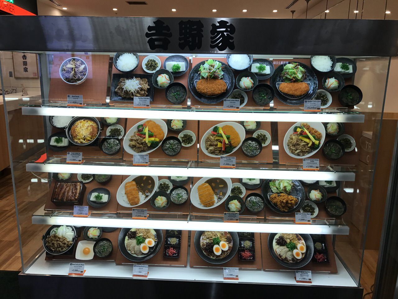 Narita airport yoshinoya 0379