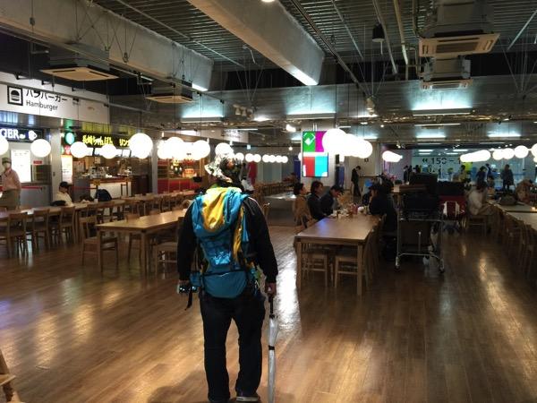 【成田空港】第3ターミナルのフードコート【食事】