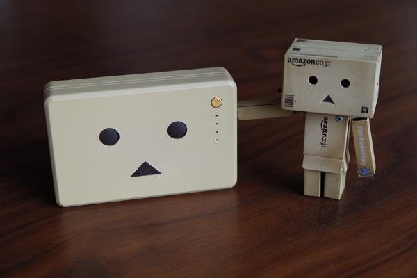 ダンボーバッテリーが小さく軽く!2/3にサイズダウンするもバッテリー容量ほぼそのまま「cheero Power Plus 10050mAh DANBOARD version」