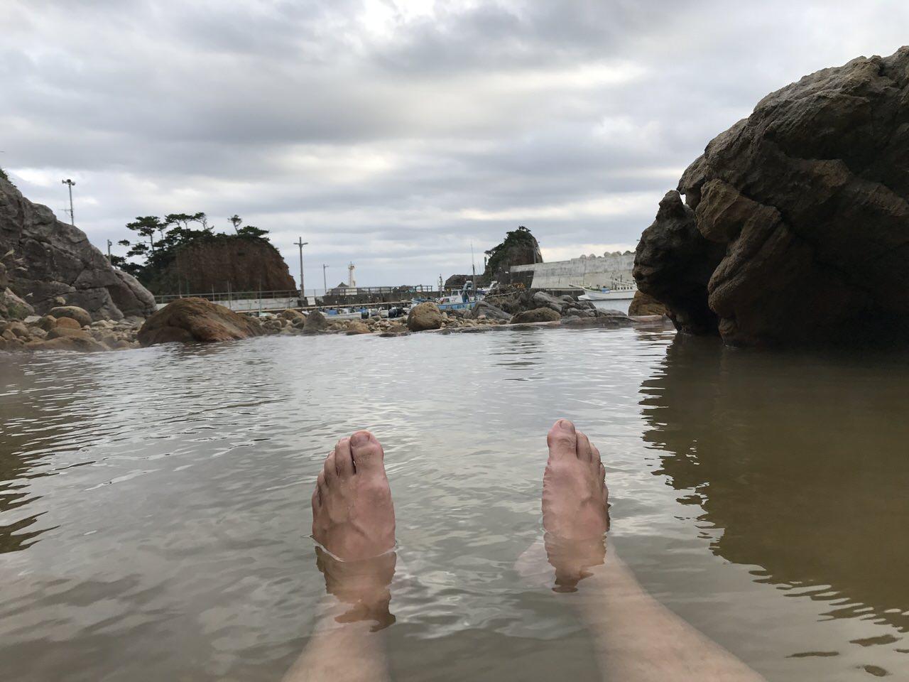 【温泉4ヶ所】海沿いの温泉巡りを楽しむ式根島旅行【PR】 #tokyoreporter #tamashima #tokyo #shikinejima