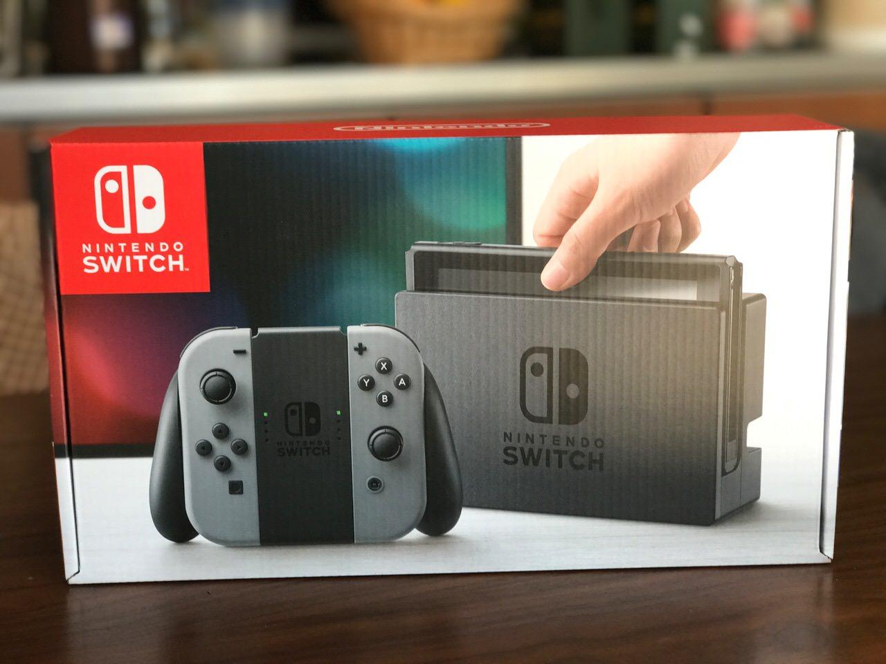 Nintendo switch setup 6748