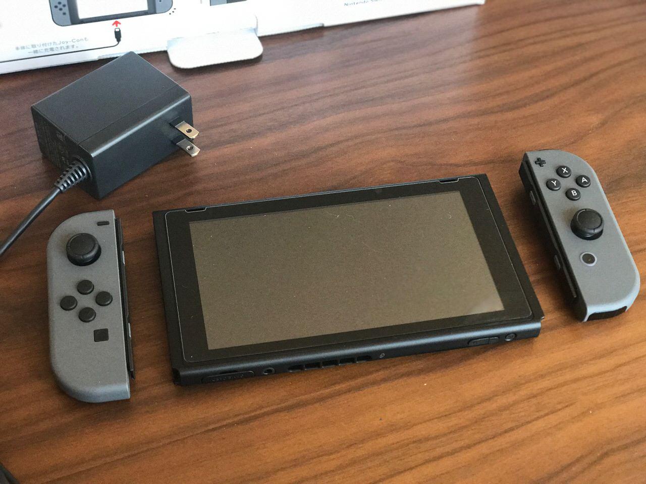 Nintendo switch setup 6753