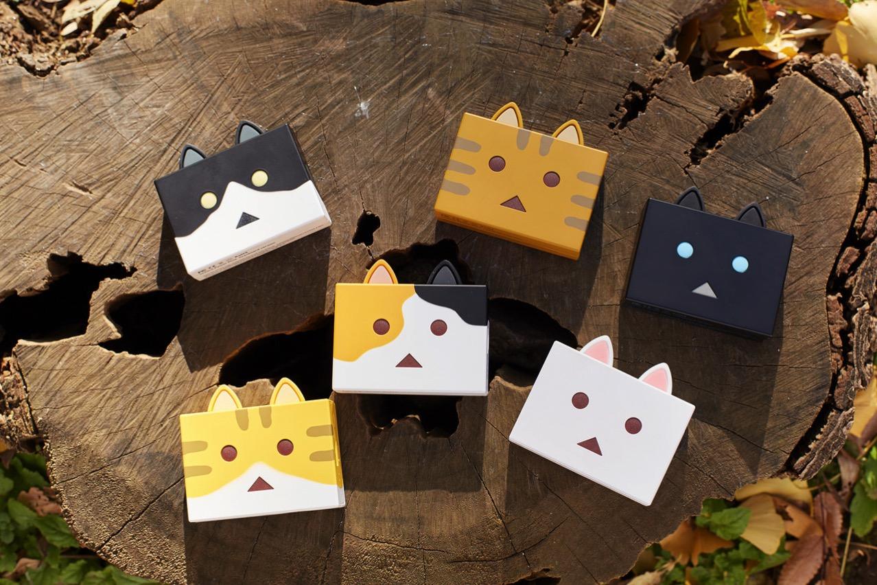 猫耳がかわいい!ニャンボーの猫型モバイルバッテリー