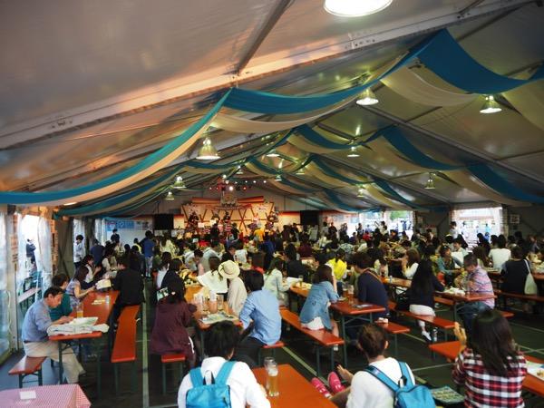 「さいたまオクトーバーフェスト2015」大宮・鐘塚公園で開催(2015年9月25日〜10月4日)