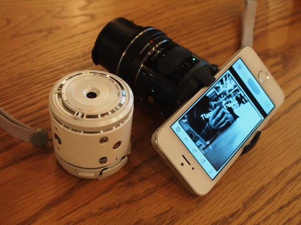 「OLYMPUS AIR」ワクワクせざるを得ない!ボディケースやアプリを開発できる147gのオープンなカメラプラットフォーム誕生