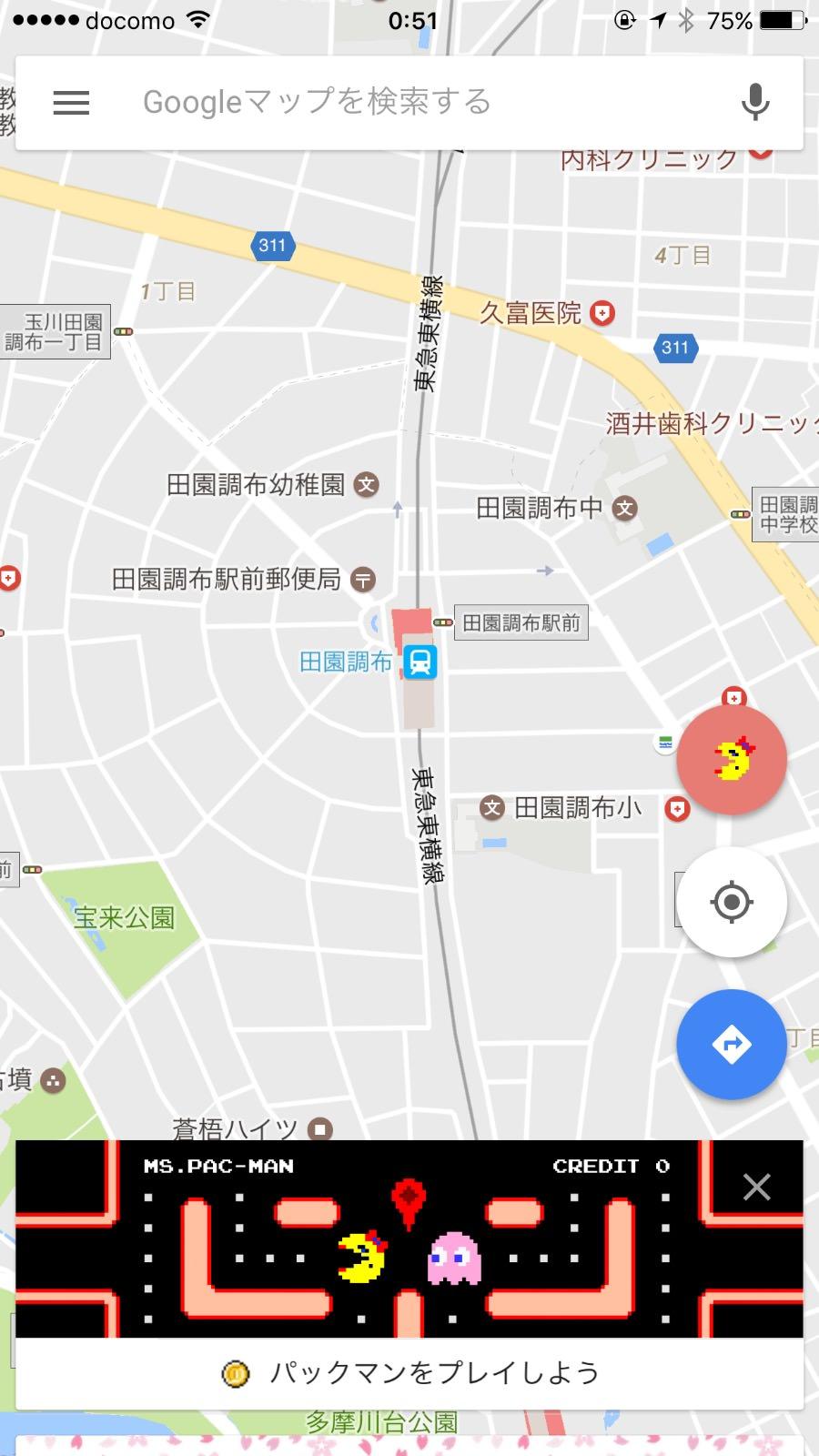 Pacman googlemap 8738