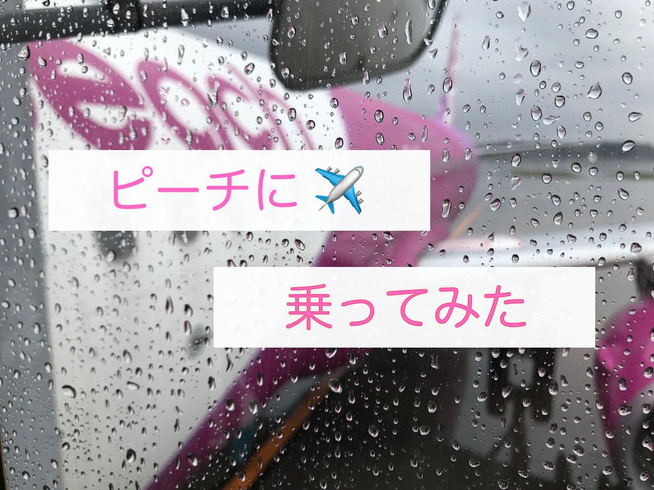 【ピーチ】口コミ(機内持ち込み)【成田→福岡】