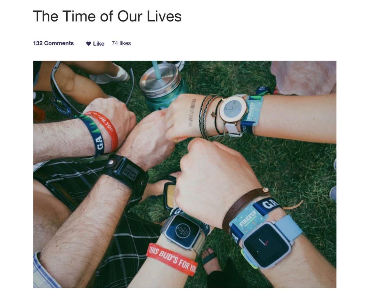 「Pebble」Fitbitによる買収による終了を発表