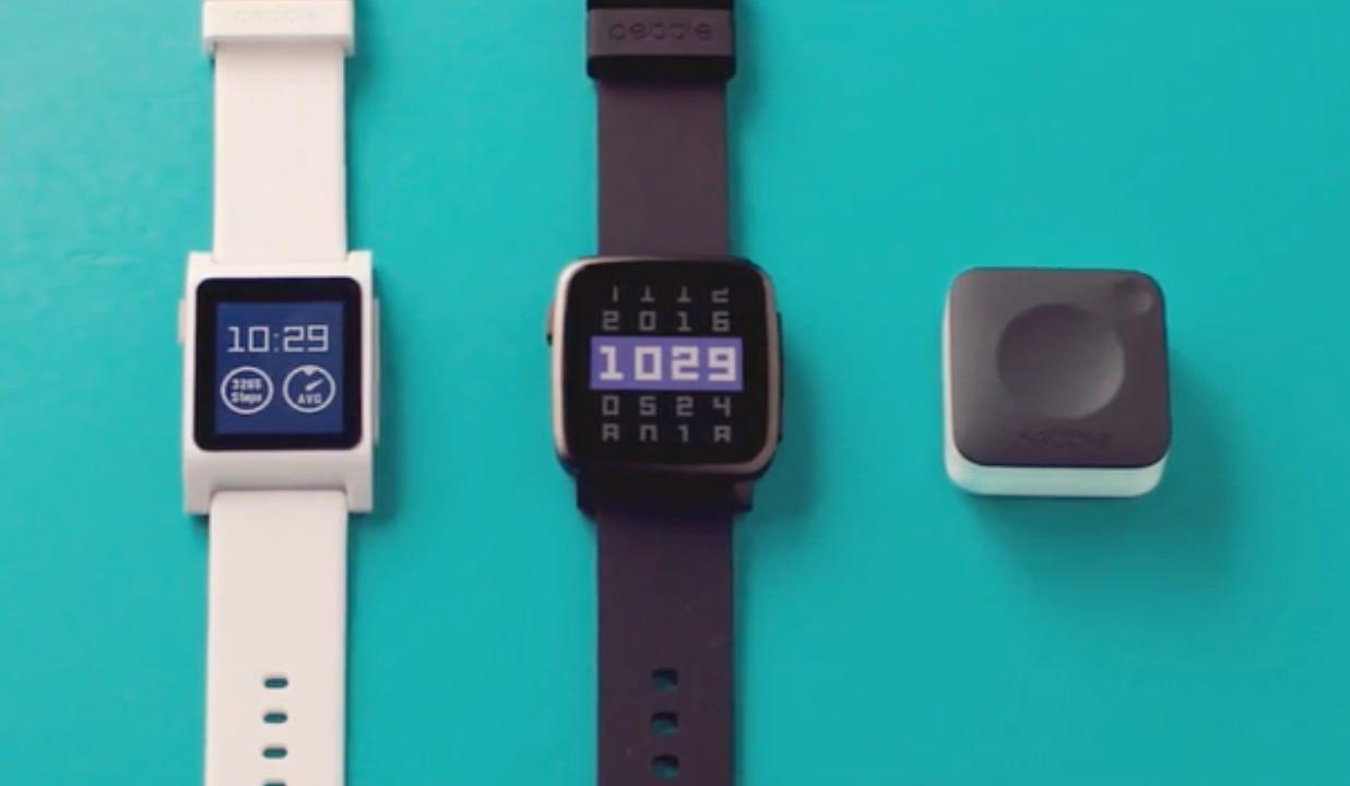 Pebble 2/Pebble Time 2/Pebble Core 発表 〜心拍計機能が追加&Coreは3G対応のボタン