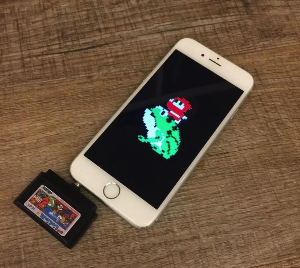 スマホのイヤホンジャックに挿すゲームカセット「ピコカセット」Makuakeで出資を募集中