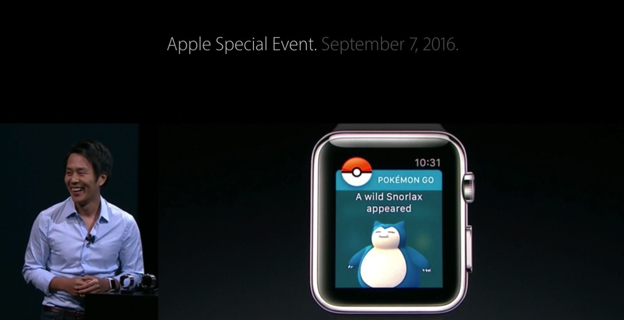 Pokemon go apple watch 1055