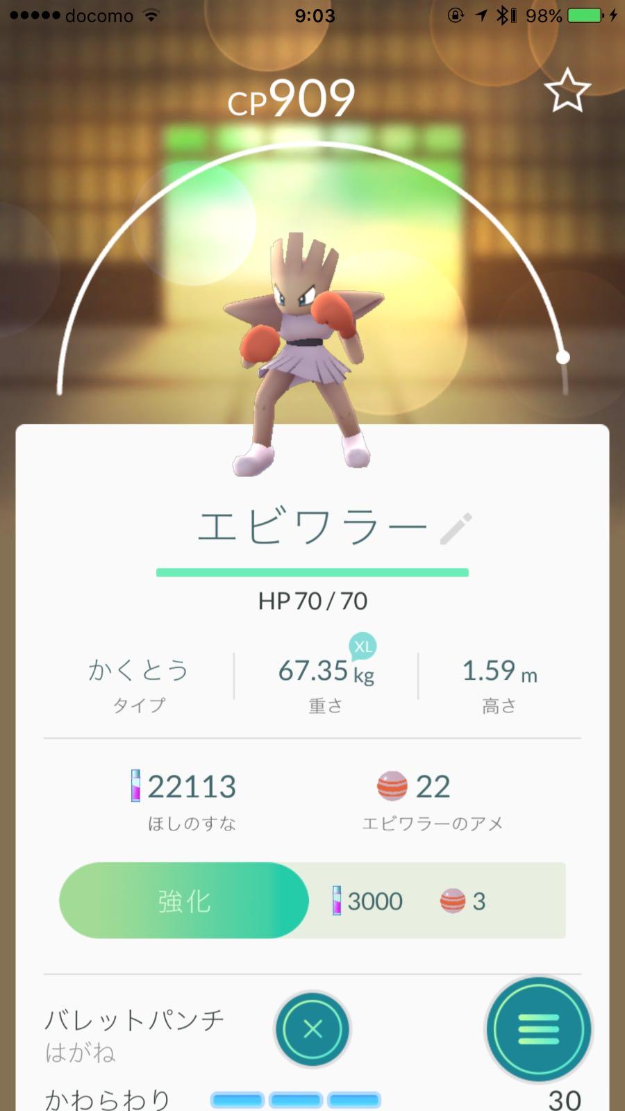 Pokemon go ebiwara 7595