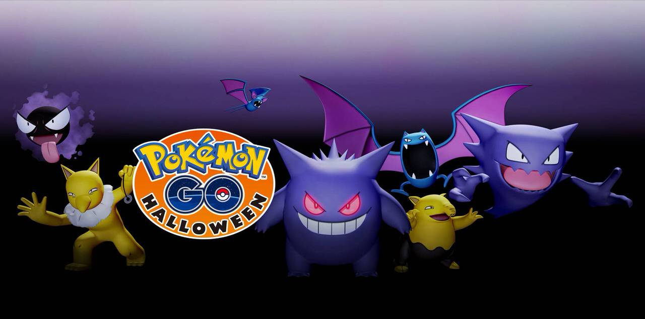 Pokemon go halloween2016