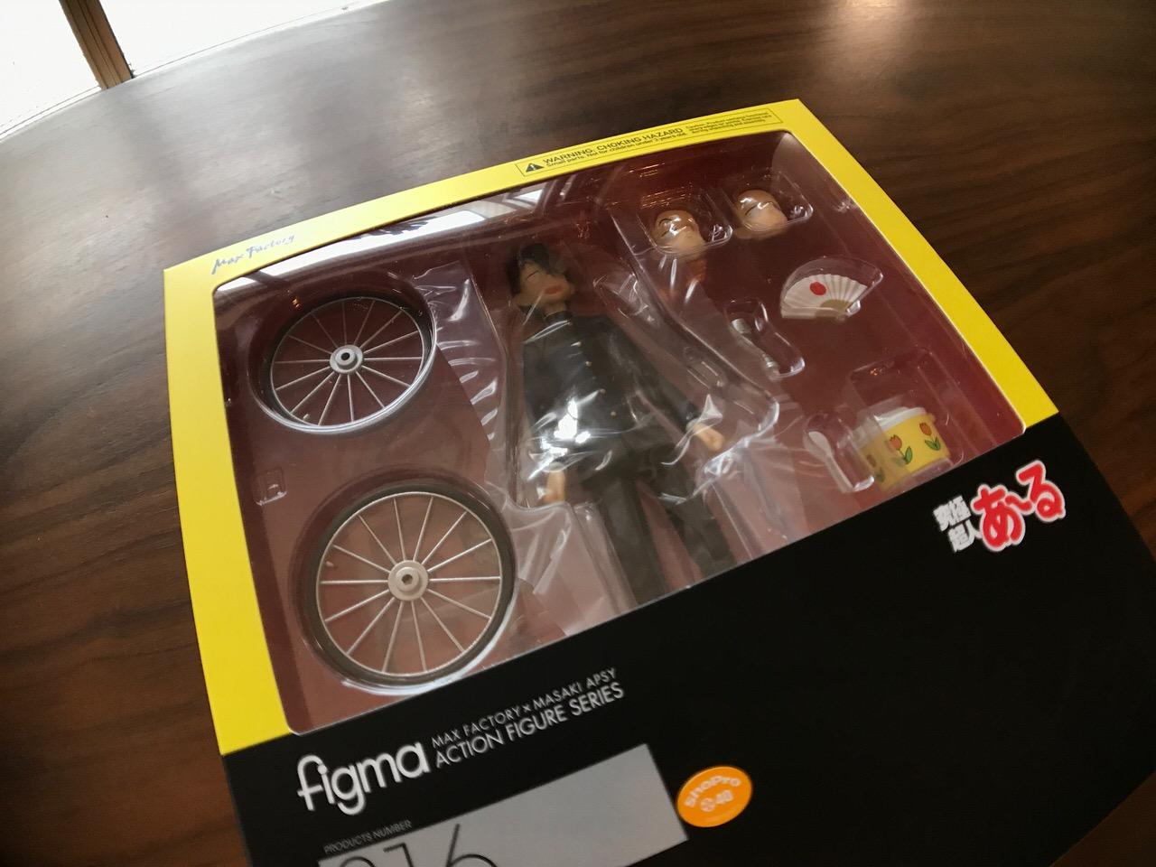 やぁ。届いた。figma「究極超人あ〜る R・田中一郎」予告から2年越し!