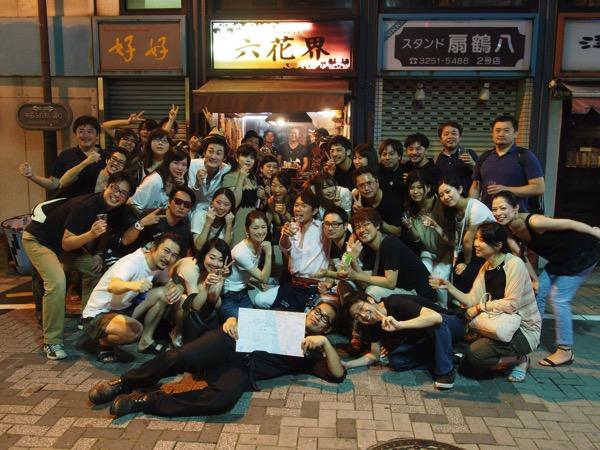神田の立ち呑み焼肉「六花界」6周年おめでとうございます!