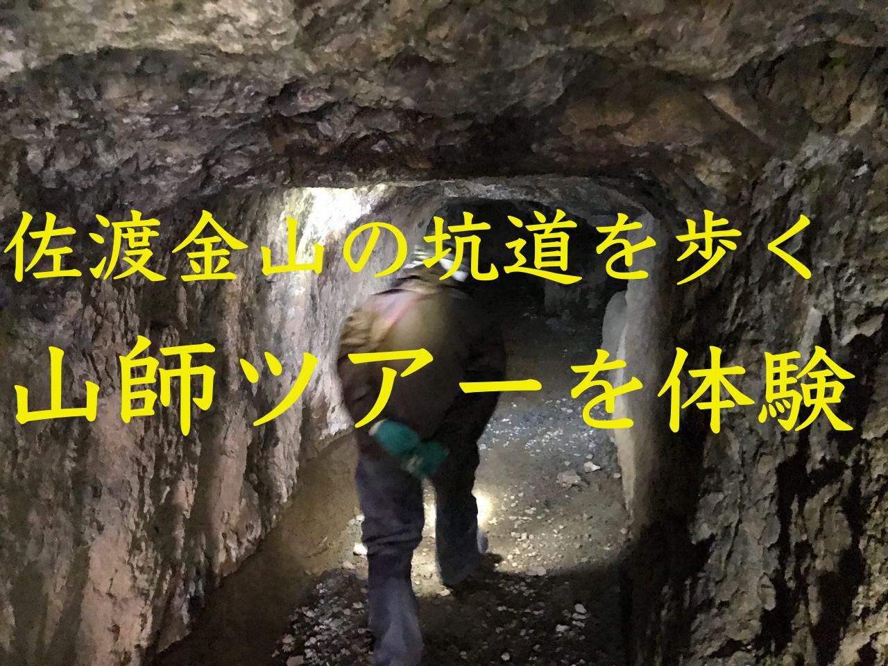 【史跡佐渡金山】懐中電灯の光を頼りに「山師ツアー」闇の坑道を歩く 〜「北沢浮遊選鉱場」「大間港」も【PR】