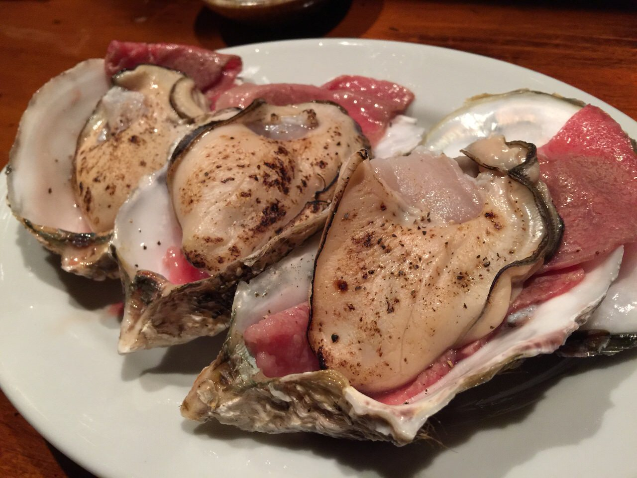 【店名非公開】か、牡蠣と牛肉だと!?牡蠣の肉巻き・きんかんのフリッター・ウニの肉巻きからのカレーで昇天!コスパ最強の渋谷道玄坂の隠れ家