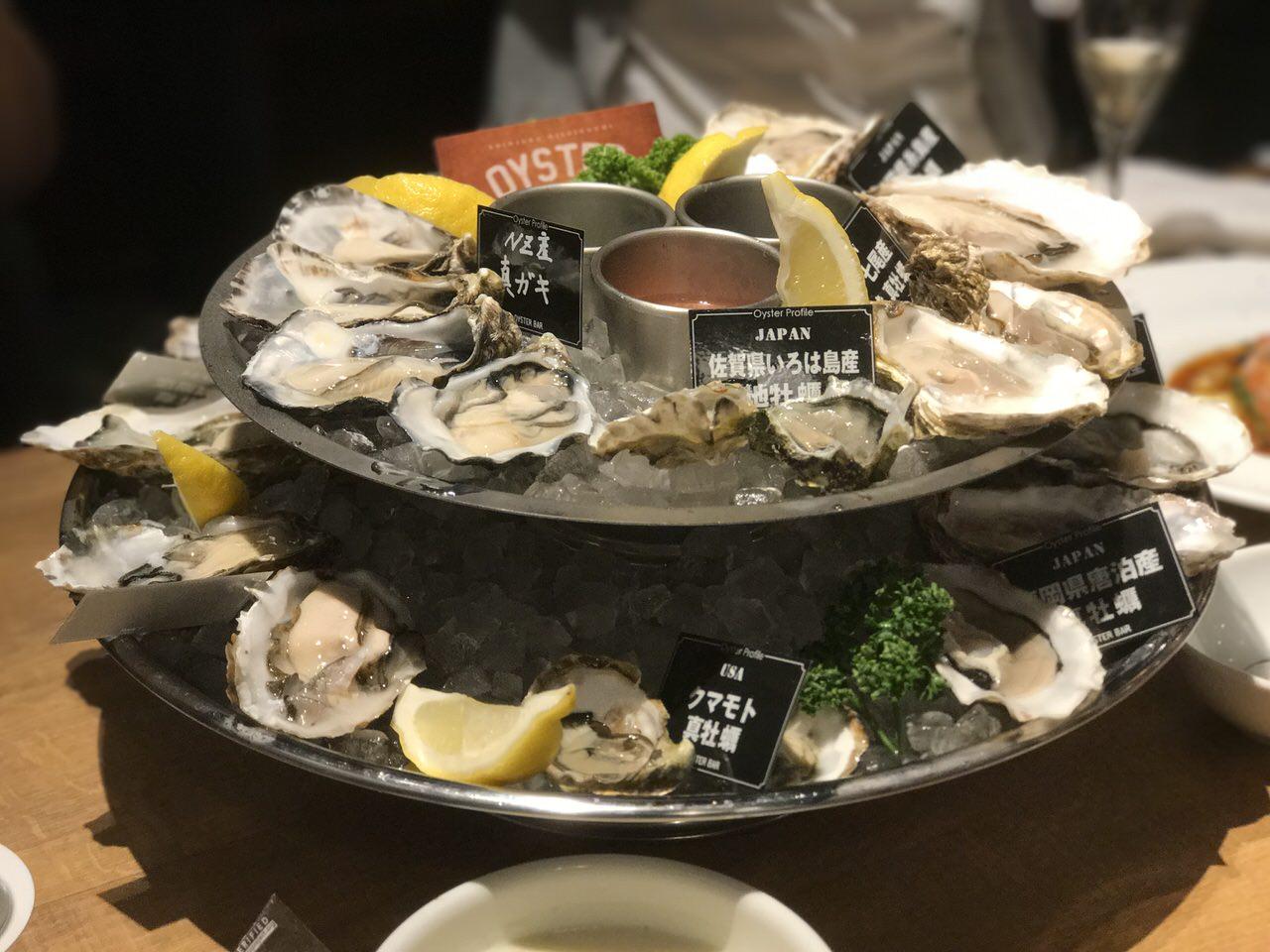 Shinjuku nishiguchi oyster bar 3229