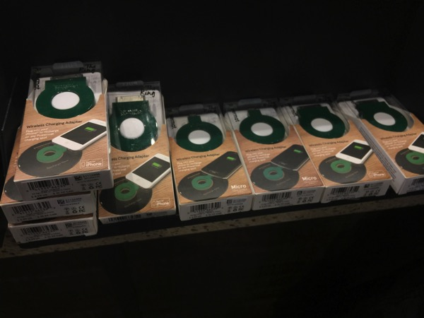 「Powermat」ロスのスターバックスで見かけたワイヤレス充電システム