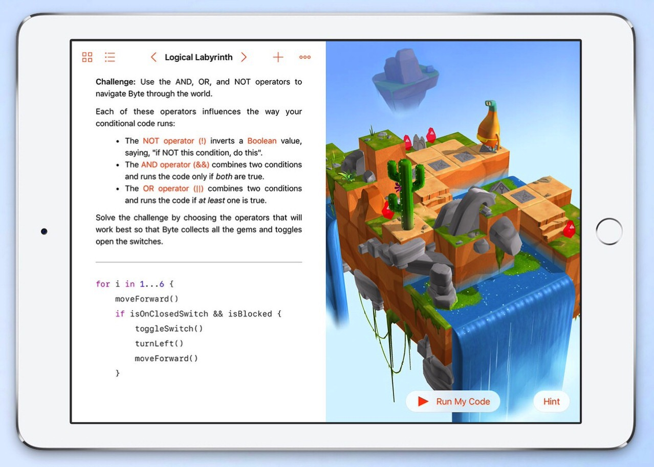 Swift playgrounds 0929