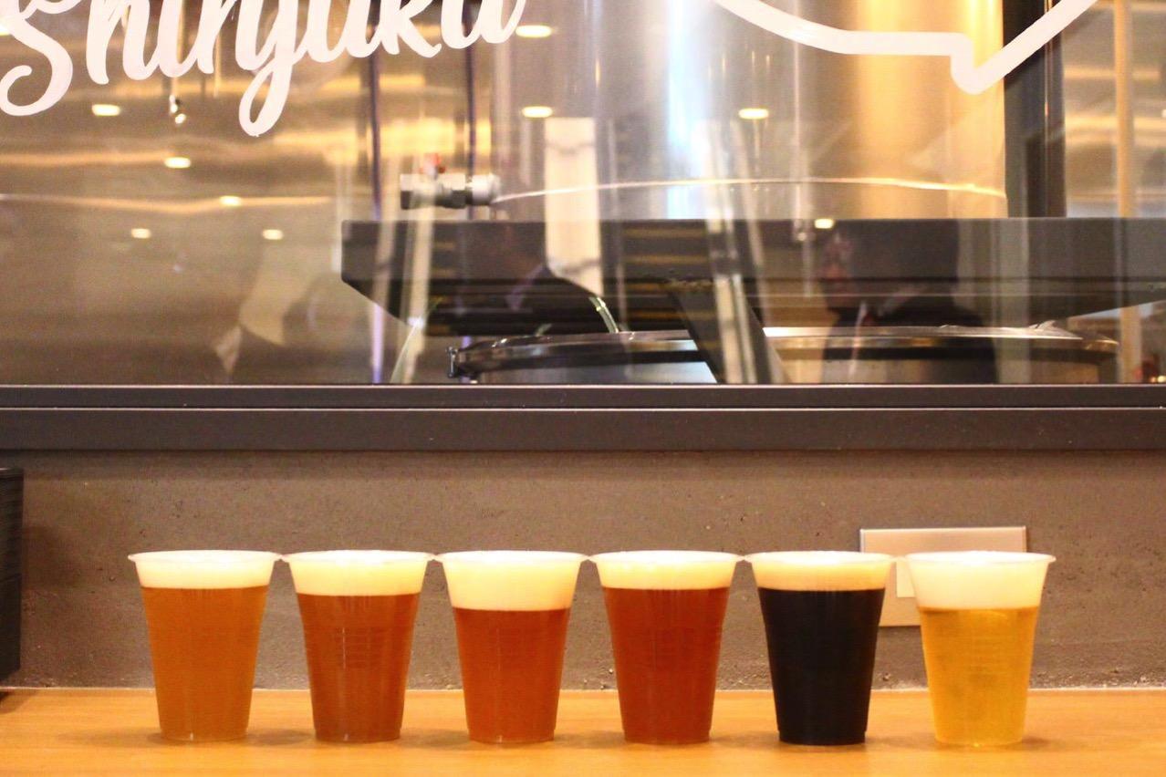 「ビール工房 新宿」店内にマイクロブルワリーを併設したブリューパブがオープン