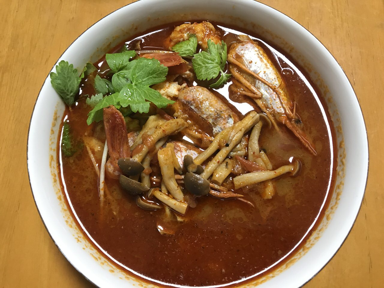 Thai tom yum kaldi 7008