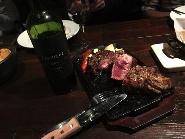 "「TORO TOKYO(銀座)」異国を感じるメキシコ料理の店で肉専用黒ワイン""カーニヴォ""を飲みながら肉塊を食べてきた!"