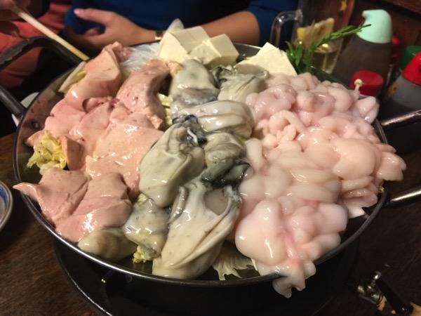 「豊田屋」牡蠣!白子!あん肝!たっぷりトリプルに盛られた魅惑の