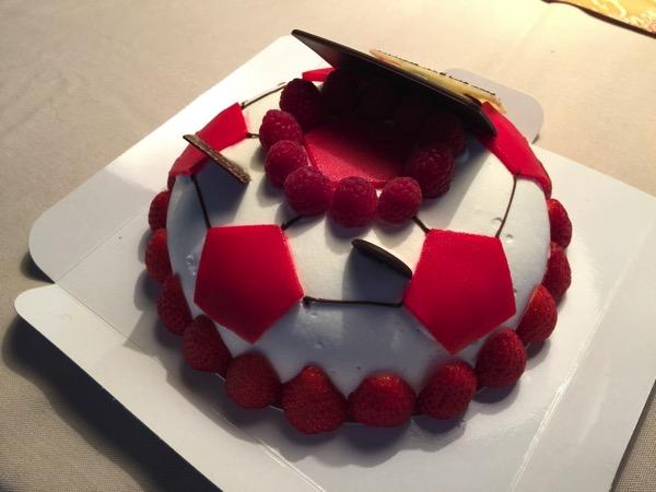 Urawa reds cake 1234