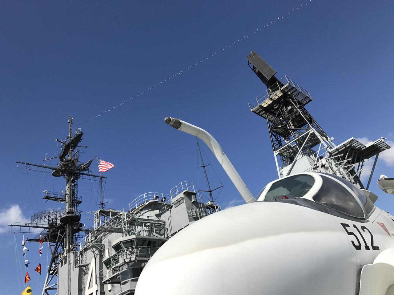 写真で見る「空母ミッドウェイ博物館(USS Midway Museum)」サンディエゴ #AdobeMAX