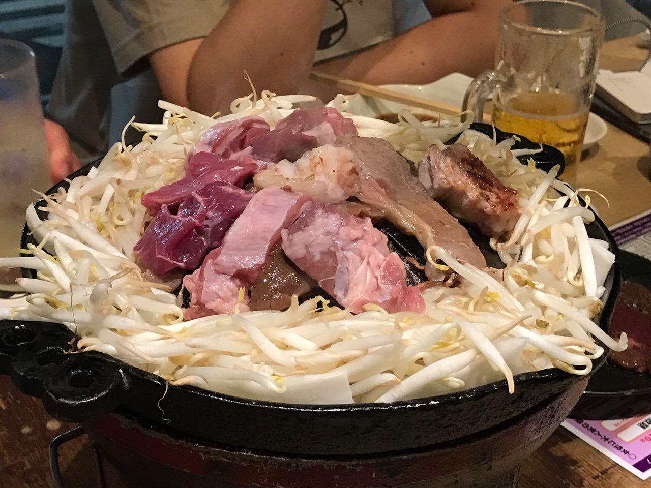 「ゆきだるま 中野部屋」激ウマ!120分ジンギスカン食べ放題・飲み放題して4,980円