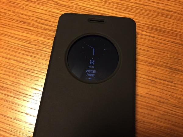 【ZenFone 5】カバーの開け閉めで電源オンオフができるASUSTekの公式フリップカバーは初心者にオススメ