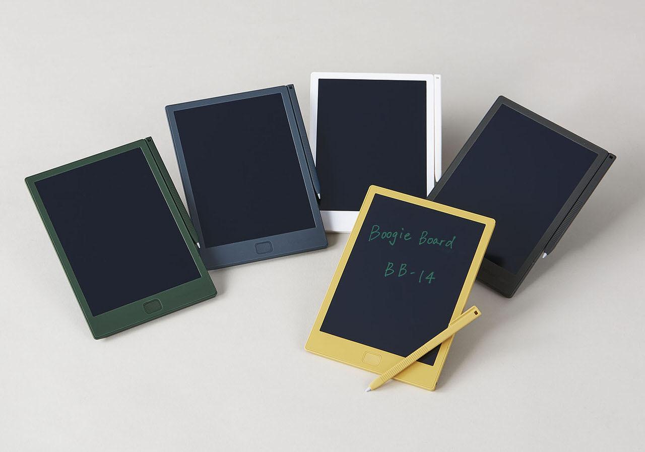 電子メモパッド「ブギーボード」に片手で持ちやすいA6手帳サイズ「Boogie Board(BB-14)」が登場!内容を保存する専用アプリもリリース