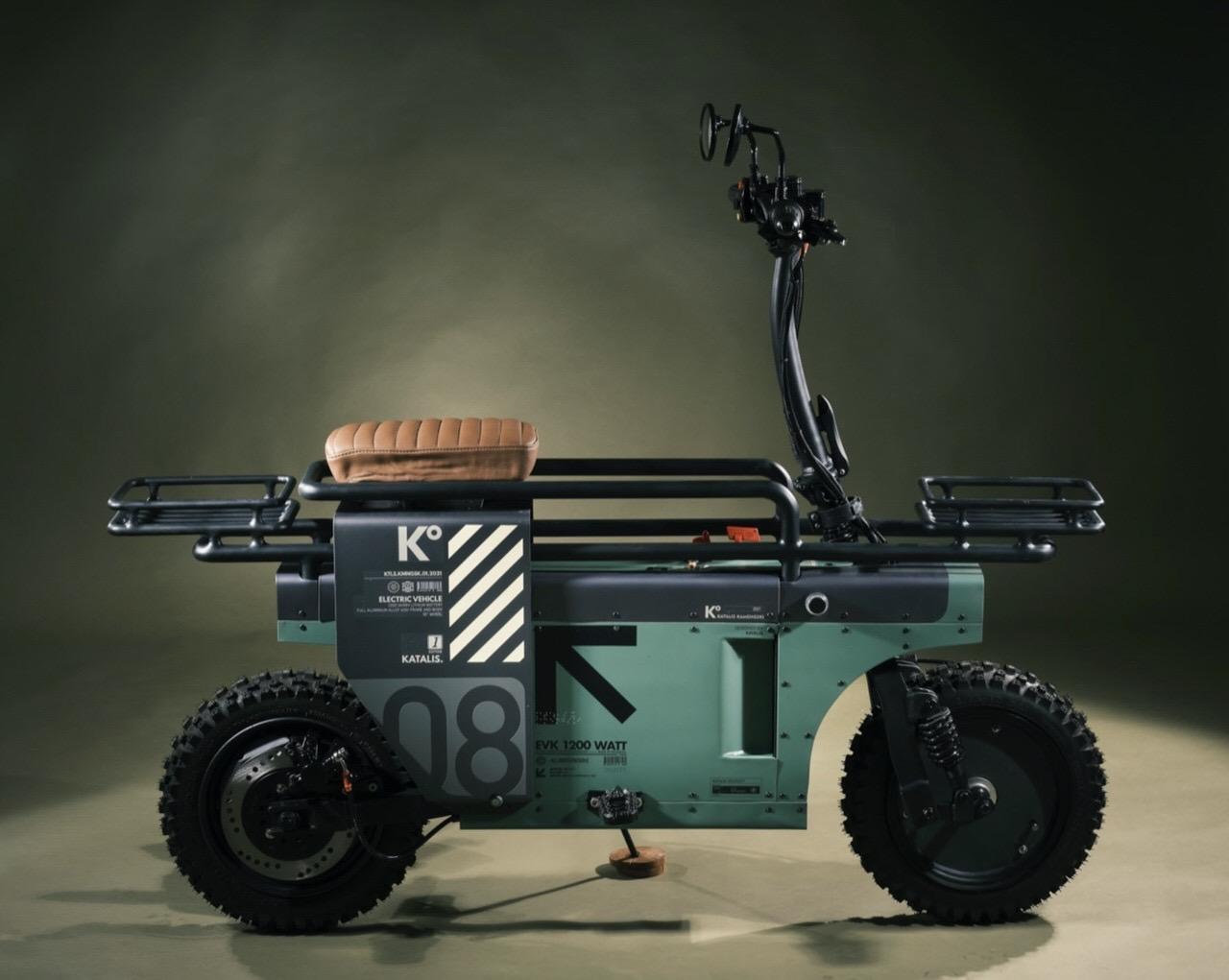インドネシアのKatalisが発表した折りたたみ電動バイク「Spacebar」が完全にドラゴンボールぽいモトコンポで欲しい