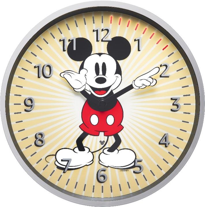 Amazon、Echoシリーズに接続して時刻や複数のタイマーを表示できる壁掛け時計「Echo Wall Clock―Disneyミッキーマウスエディション」販売開始