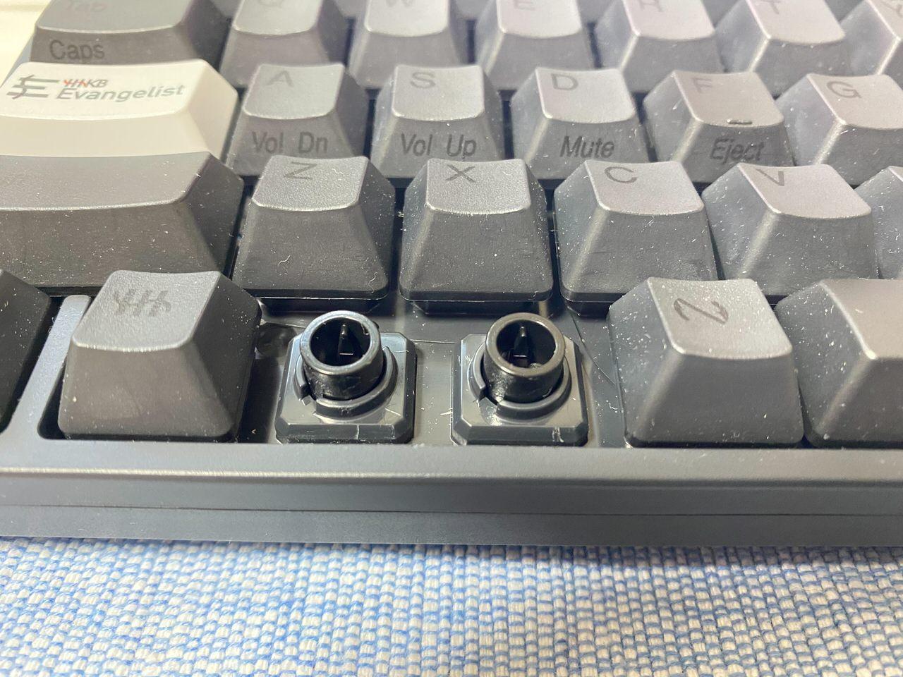 【HHKB】キートップを3Dプリンターで自作する 14