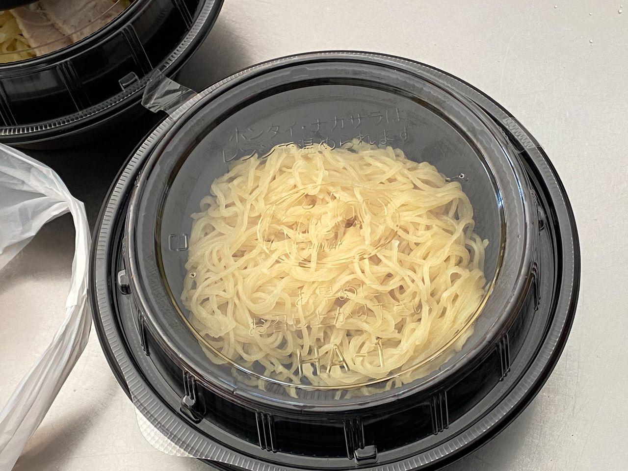 日高屋「チゲ味噌ラーメン」テイクアウト 03