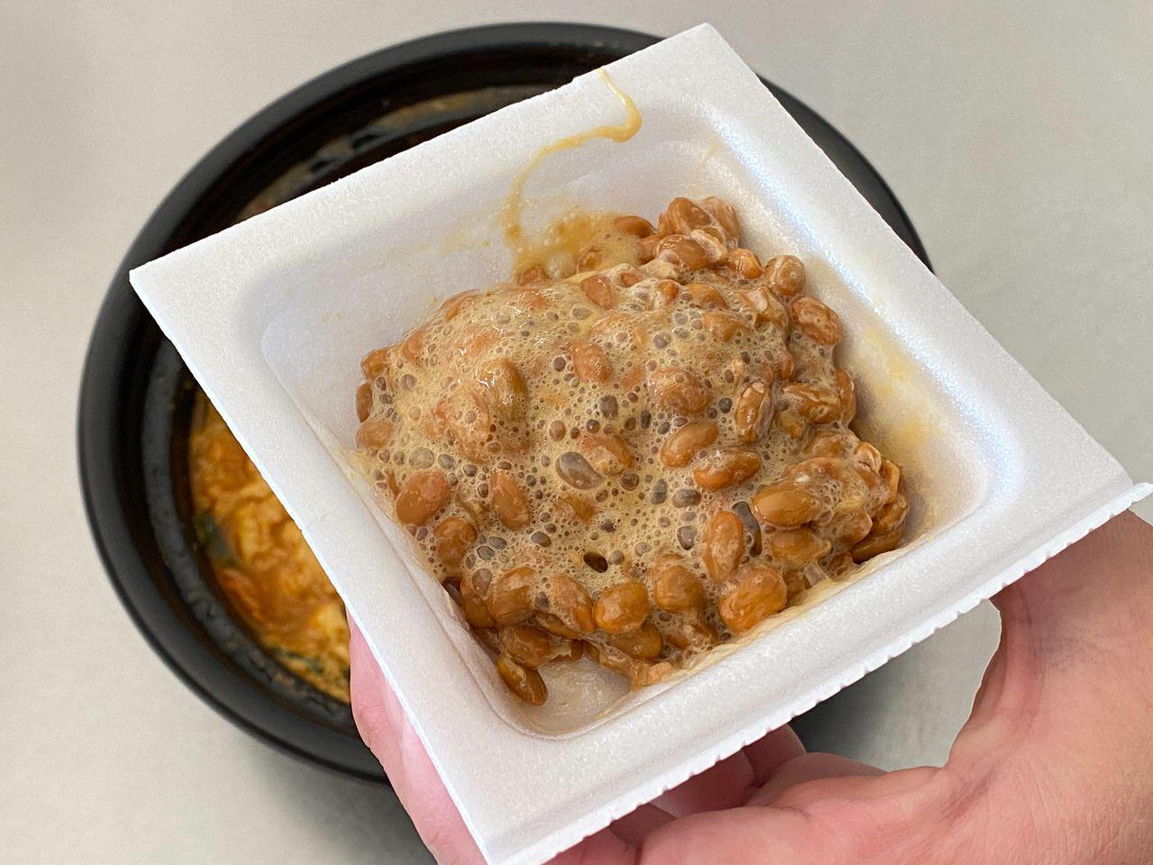 日高屋「チゲ味噌ラーメン」テイクアウト 12