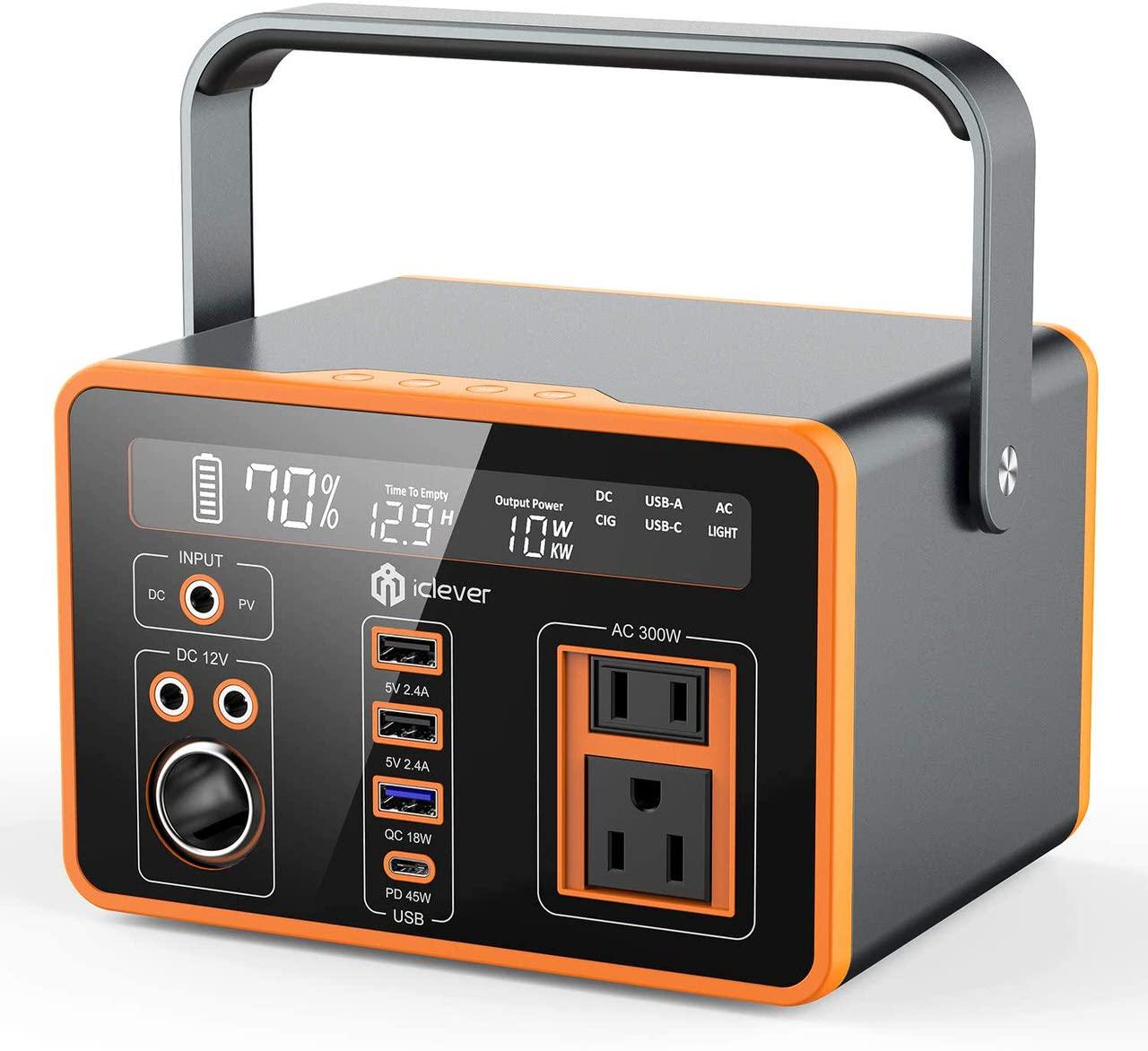 コンパクトなのに300Wh大容量のポータブル電源「IC-OD41B」Amazonで8,000円オフクーポン配布中(11/30まで)