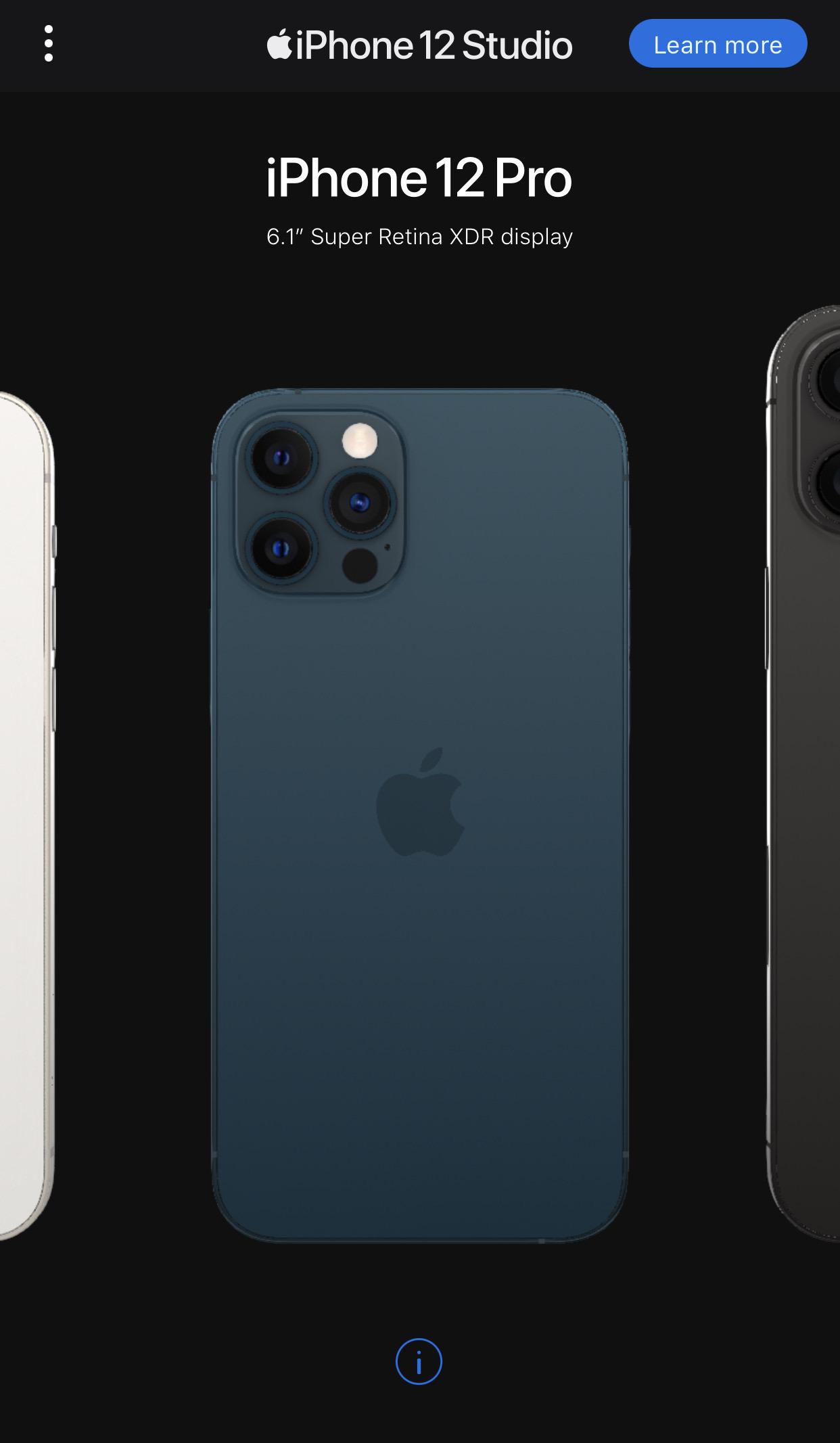 iPhone 12シリーズとケース&ウォレットの組み合わせが確認できる「iPhone 12 Studio」