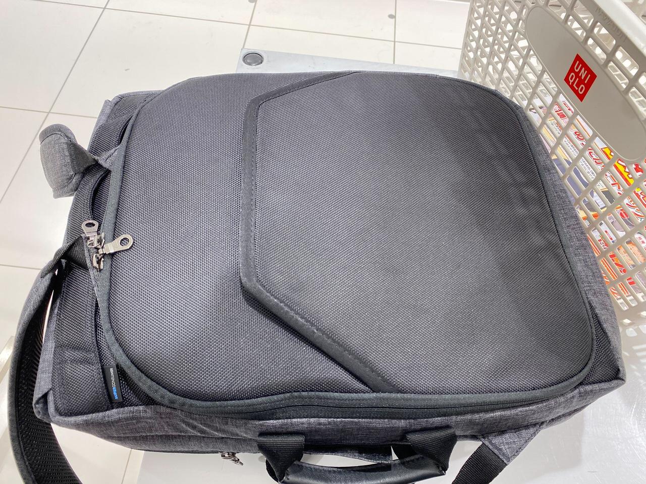 「かわるビジネスリュックmini」買い物バッグとしての普段遣いもけっこう良い 3