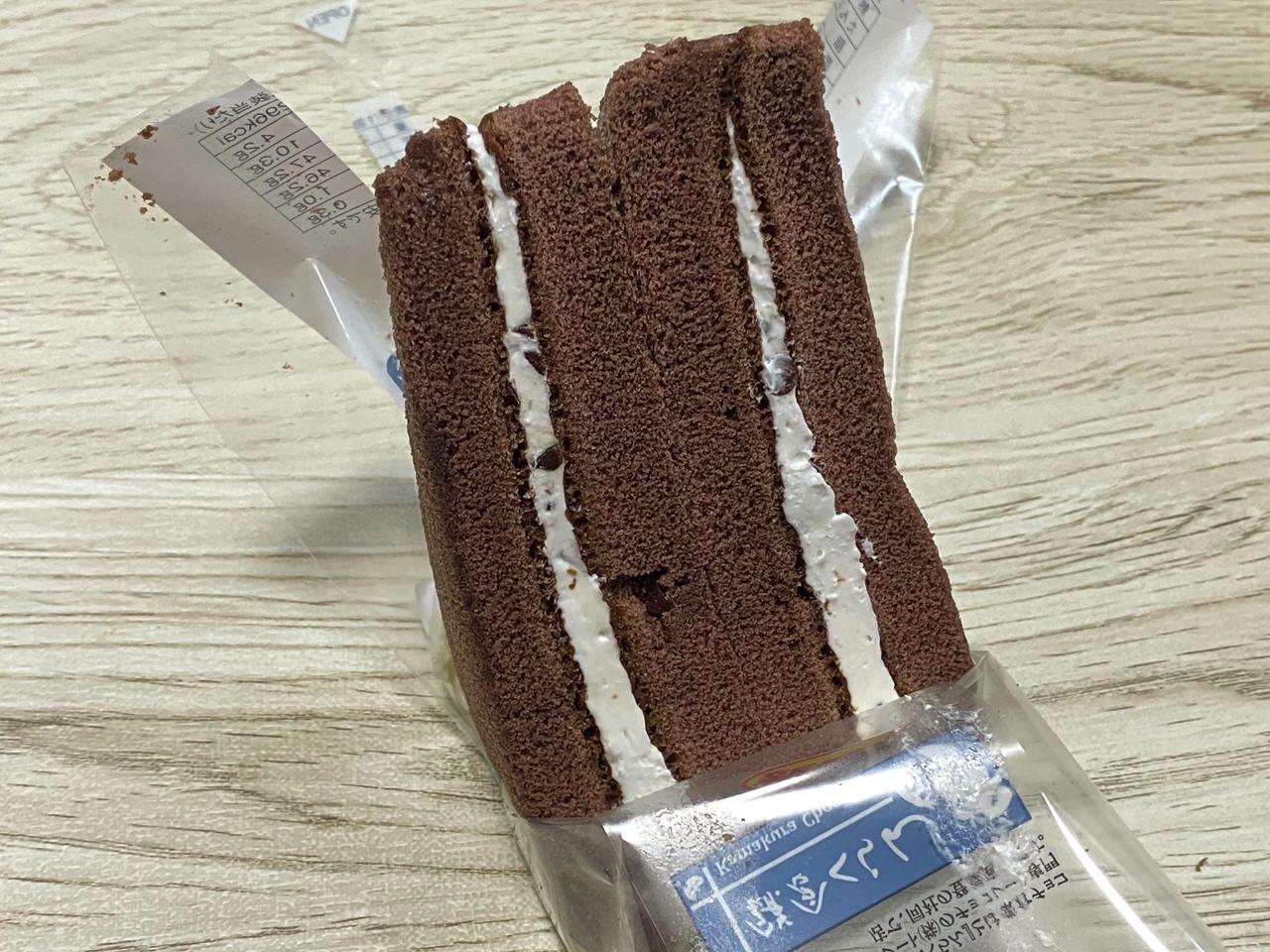 ローソン 三角サンドチョコ 06