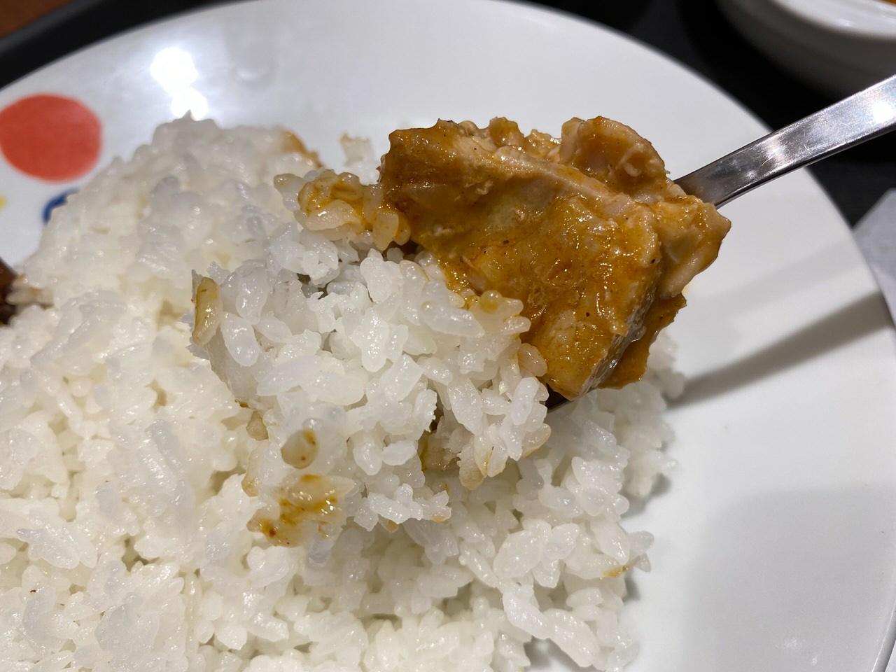 【松屋】世界一美味しい料理と言われるタイ料理「マッサマンカレー」 8