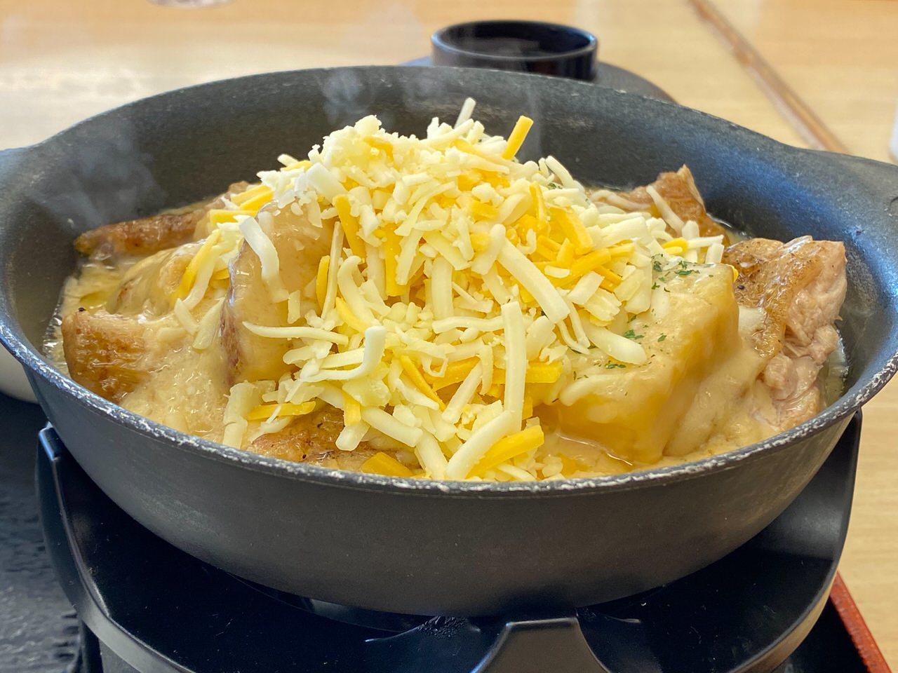 【松屋】復活した「シュクメルリ鍋」ニンニクチーズにさらに追いチーズ!最後の一口まで美味すぎた! 08